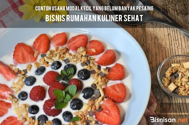 Bisnis Rumahan Kuliner Sehat