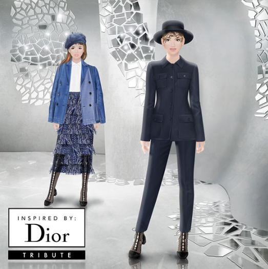 9e9c62a534c2f Truques Stardoll Hoje ♥  Dior Tribute - Versões reais