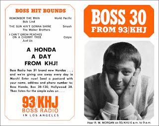 KHJ Boss 30 No. 38 - Robert W. Morgan
