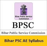 Bihar PSC AE Syllabus