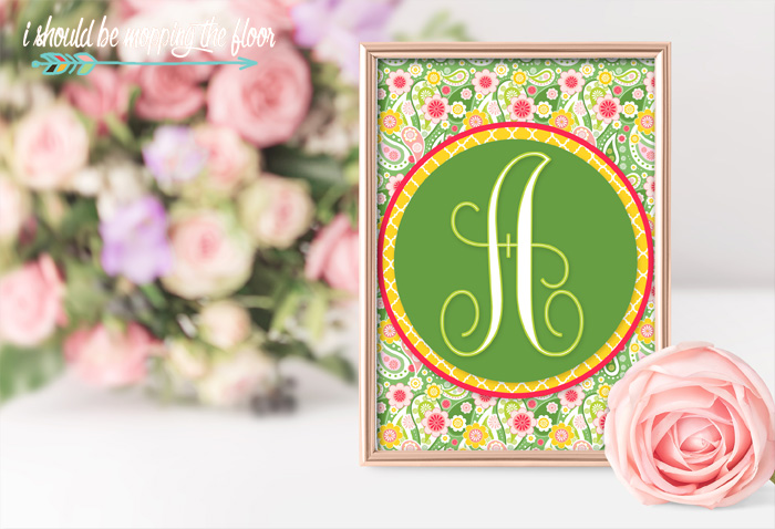 Lily Pulitzer Inspired Printables