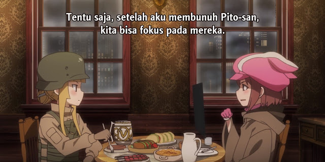 Sword Art Online Alternative - Gun Gale Online Episode 7 Subtitle Indonesia