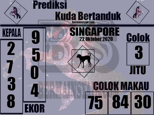 Kode syair Singapore Kamis 22 Oktober 2020 256