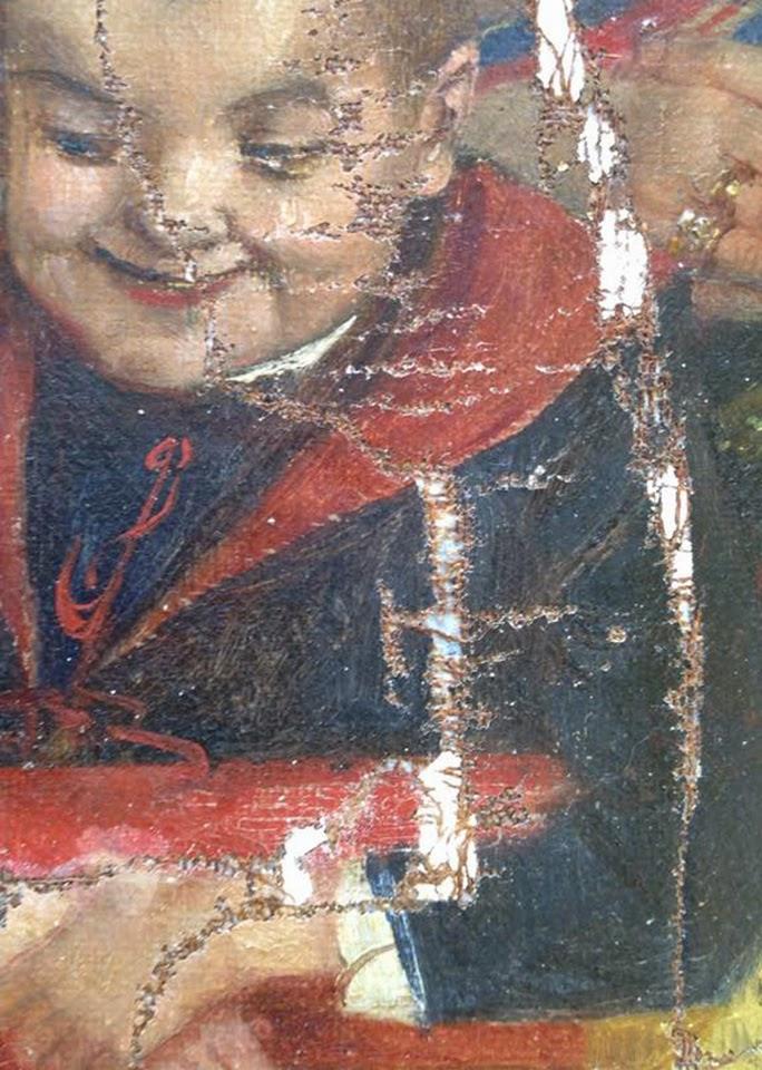 Oil Painting Restoration Process