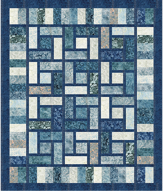 Mattonella Quilt designed by Stephanie Sheridan of Stitched Together Studios