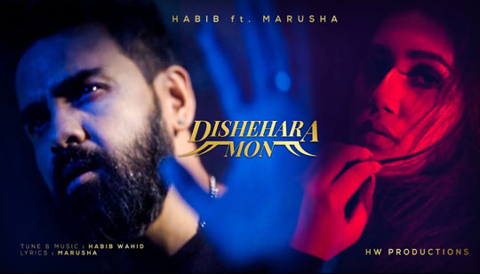 Dishehara Mon Lyrics by Habib Wahid And Marusha