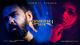 Dishehara Mon Lyrics (দিশেহারা মন) Habib Wahid - Marusha