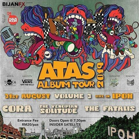 ATAS ALBUM TOUR 2019