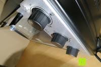 alle Regler: Andrew James – 23 Liter Mini Ofen und Grill mit 2 Kochplatten in Schwarz – 2900 Watt – 2 Jahre Garantie