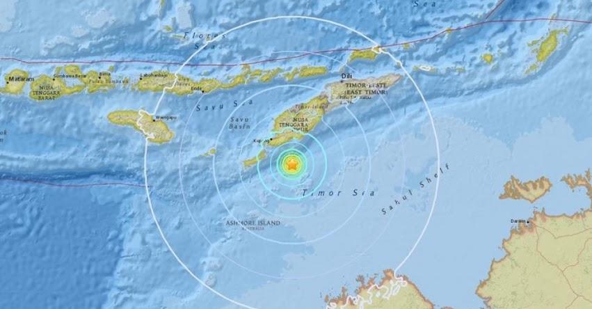 TERREMOTO EN INDONESIA de Magnitud 6.3 y Alerta de Tsunami (Hoy Martes 28 Agosto 2018) Sismo Temblor EPICENTRO - Kupang - Timor - USGS