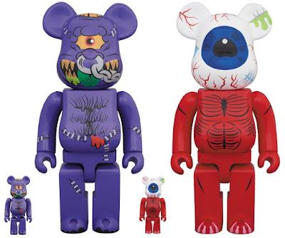 Madballs Be@rbrick Vinyl Figures by Medicom Toy