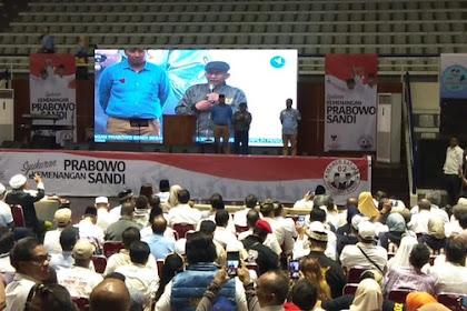 Hadiri Syukuran Kemenangan, Amien Rais Tegaskan Presiden Terpilih adalah Prabowo