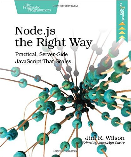 Node.js the Right Way front cover