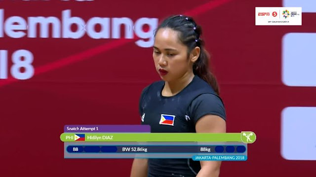 Video Playlist: Hidilyn Diaz Gold Medal match replay August 21, 2018 ASIAD Women's Weightlifting