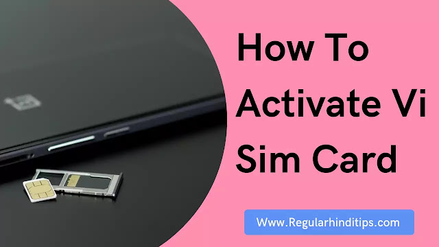 How to Activate Vi Sim Card,