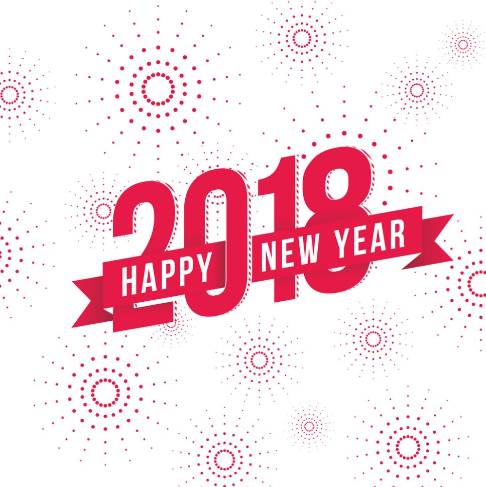 happy new year 2018 hd wallpaper download