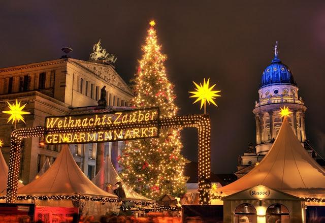 на рождество в Берлин