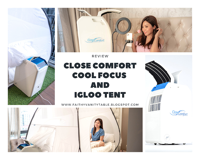 Review of CLOSE COMFORT Cool Focus and Igloo Tent by top Singapore lifestyle blogger Faith Tan