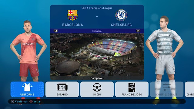 ultigamerz: PES 2019 [PS4] Option File v4 Full DLC 3 0