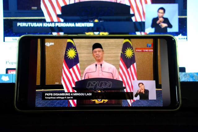 PKPB Dilanjutkan Sehingga 9 Jun 2020