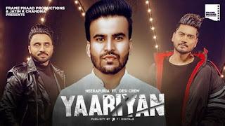 Yaariyan Lyrics Heerapuria