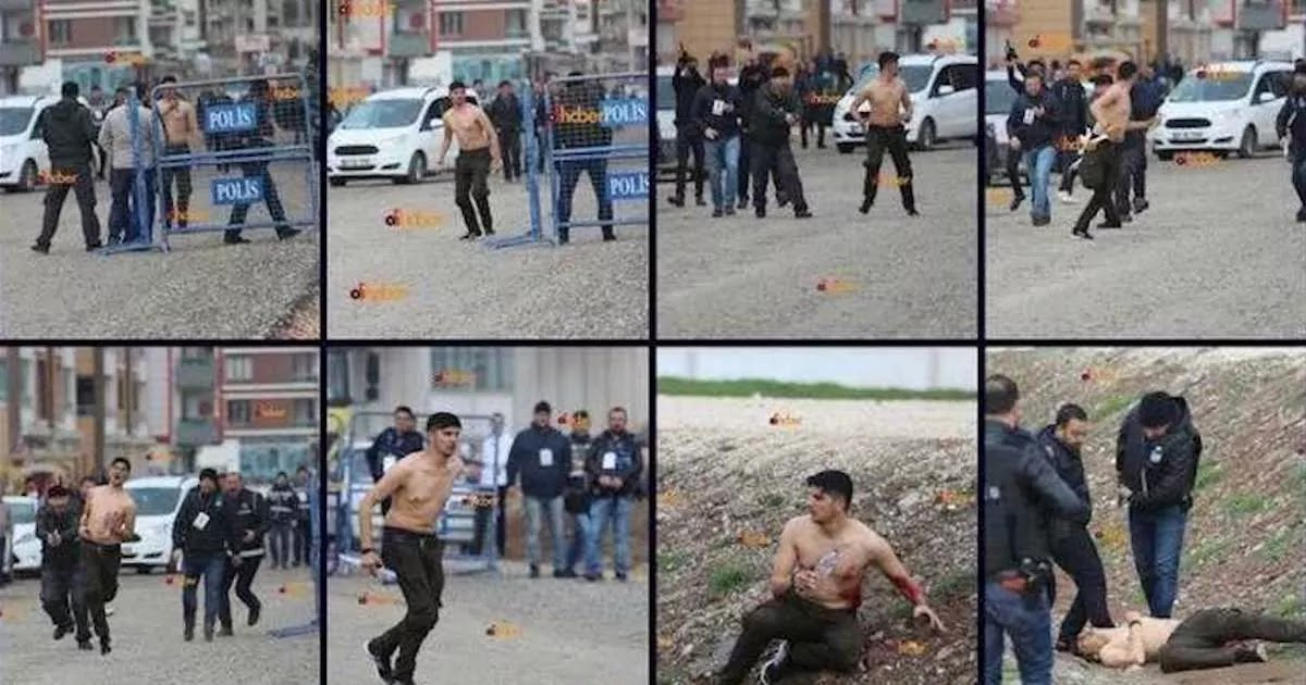 Turkish Police Officer That Shot Dead 23-Year-Old Kurd Walks Free While Photographer Who Captured The Killing Faces 20 Years