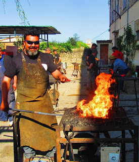 forja españa; forja chile 2018,artist blacksmith forging