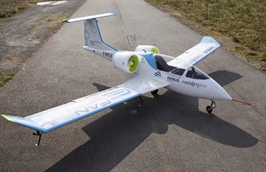 E-Fan demonstrator (Credit: Airbus Group) Click to enlarge.
