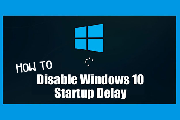 disable start up delay