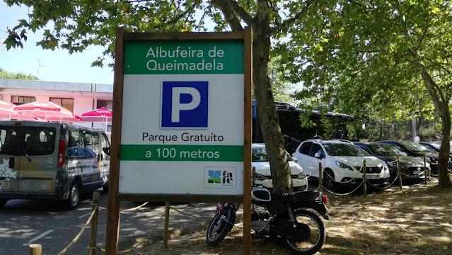 Parque de Estacionamento da Albufeira de Queimadela - Parque Grátis
