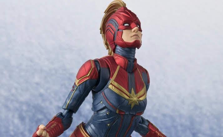 Movie Shopper's Guide - Captain Marvel(S.H.Figuarts) : マーベル・シネマティック・ユニバースの最新作「キャプテン・マーベル」の戦うヒロインのフィギュアが、来春2019年3月31日発売 ! ! 【Update】