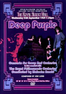 Portada del DVD de Concerto For Group And Orchestra de Deep Purple