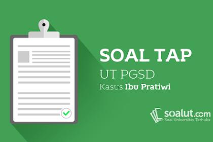 Contoh Soal Tap S1 Pgsd Pdgk 4500