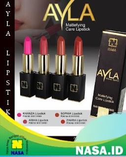 Alya Lipstik Mattefying care