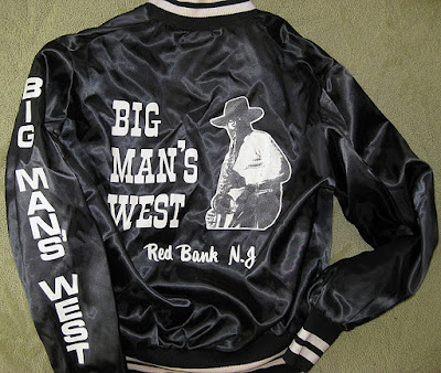 Big Man's West club jacket... Red Bank, New Jersey