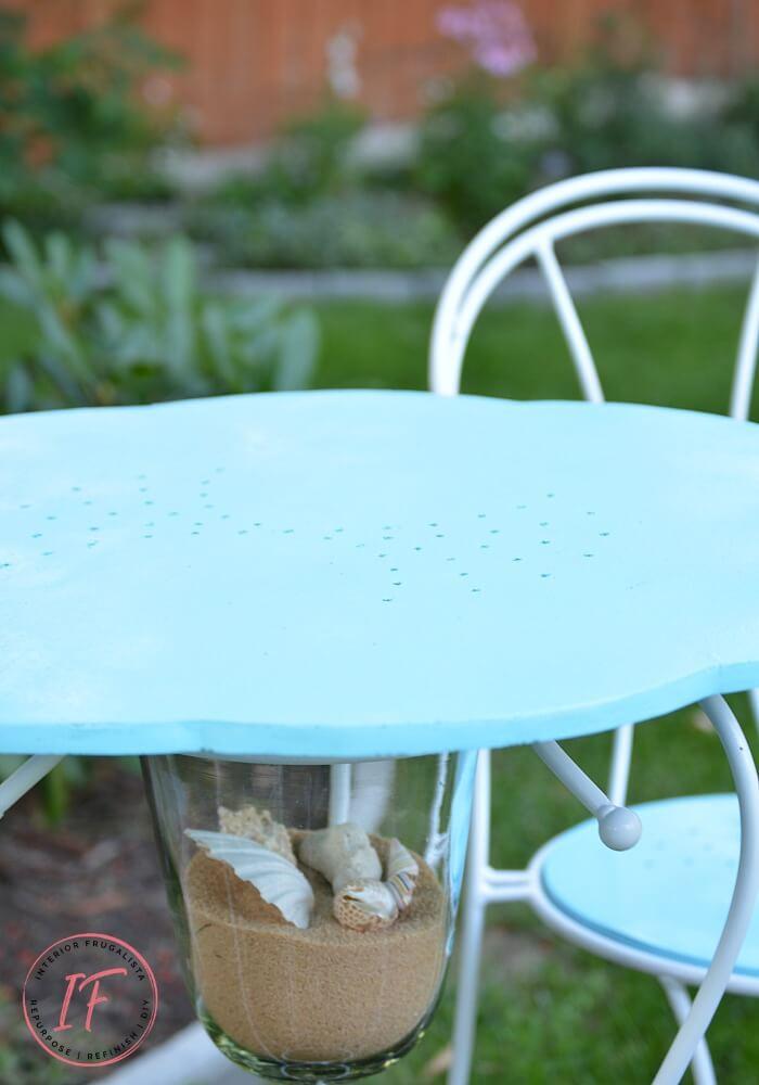 DIY Bistro Cafe Tabletop After