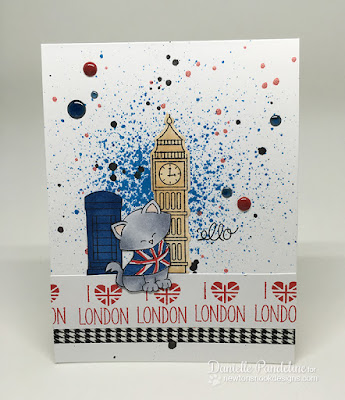 Newton Dreams of London | Newtons Nook Designs | Card Created by Danielle Pandeline