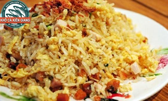 Món ngon cơm chiên Cá mặn (Khô Cá Bè Trang)