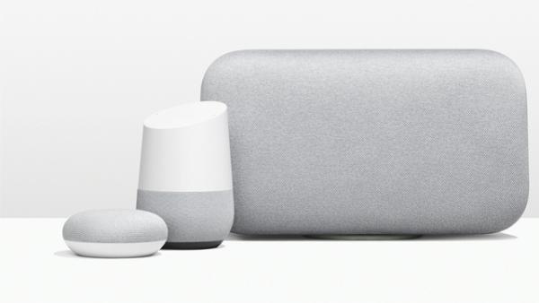 تعلن جوجل عن جهازي Home Max و Home Mini