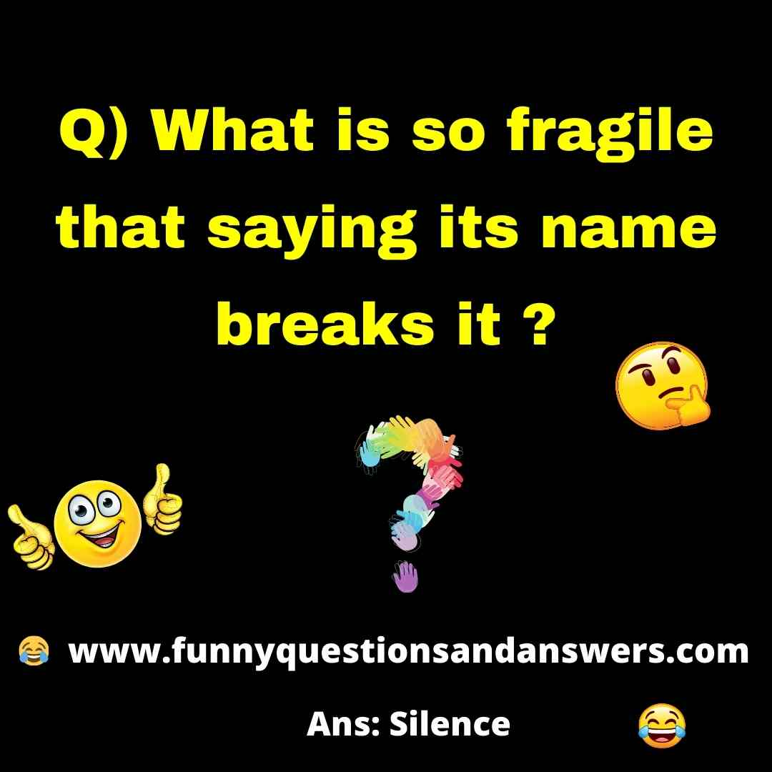 Best Funny Questions To Ask Friends, With Answers