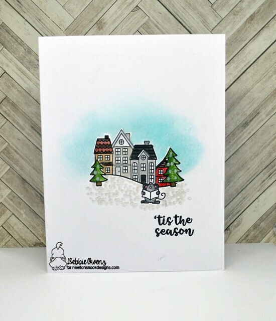 'Tis the season by Debbie features Caroling Newton and Snow Globe Scenes by Newton's Nook Designs; #newtonsnook