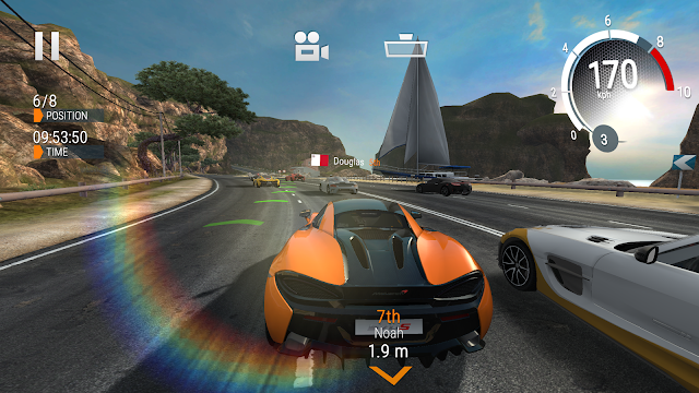 Tampilan Game Gear Club - True Racing Android