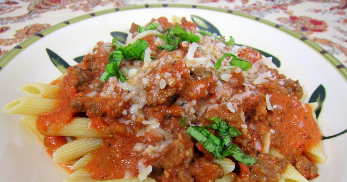 Spicy Tuscan Style Sausage Ragu - Secret Recipe Club | Plain Chicken