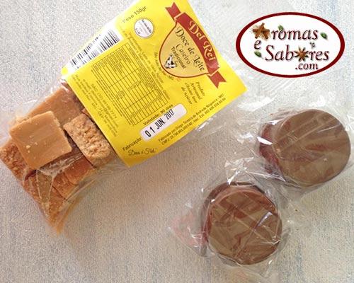 Doce de leite e pão de mel na feira de Tiradentes