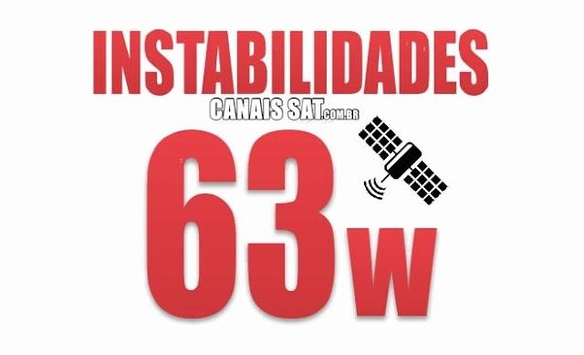 Satélite SKS 63w sofre Apagão/Instabilidade - 03/03/2021