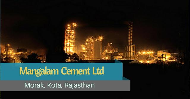 Mangalam Cement Plant, Kota - Rajasthan