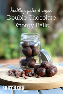 Raw Double Chocolate Bliss Balls Recipe
