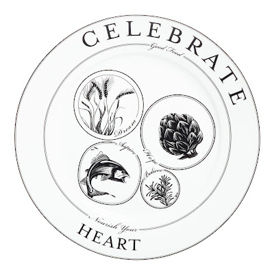 "Livliga's Celebrate Pattern reminds people to ""Nourish Your Heart"""