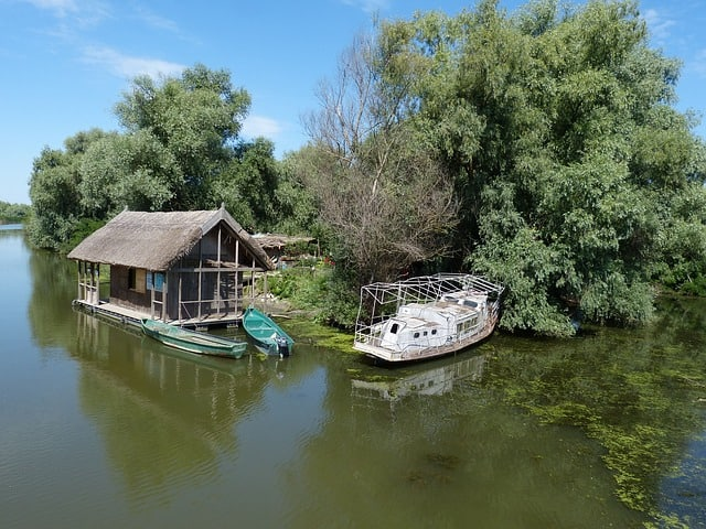 Danube Delta, unique place in Europe