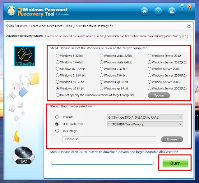 Pemasangan Booting Windows Recovery di Flashdisk